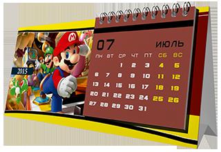 Календари - домики